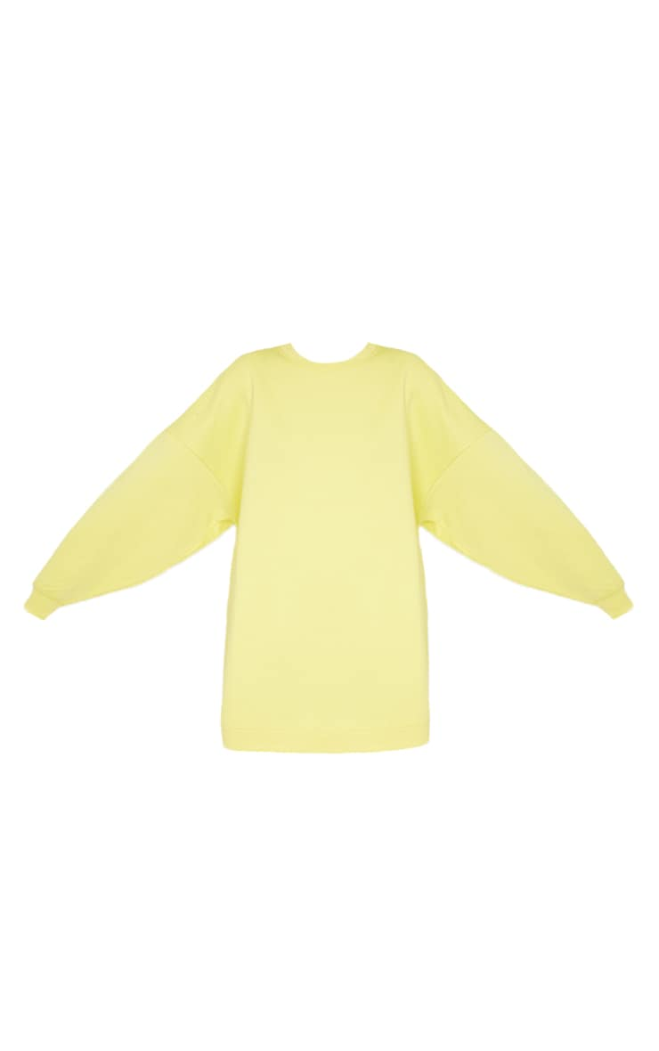 Lemon Buffalo New York Graphic Sweatshirt Dress 5