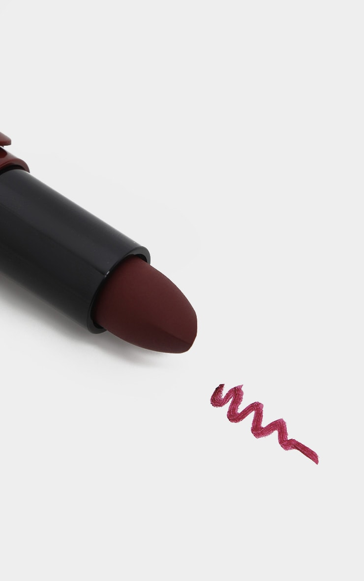 NYX Professional Makeup Suede Matte Red Berry Lipstick Cherry Skies 3