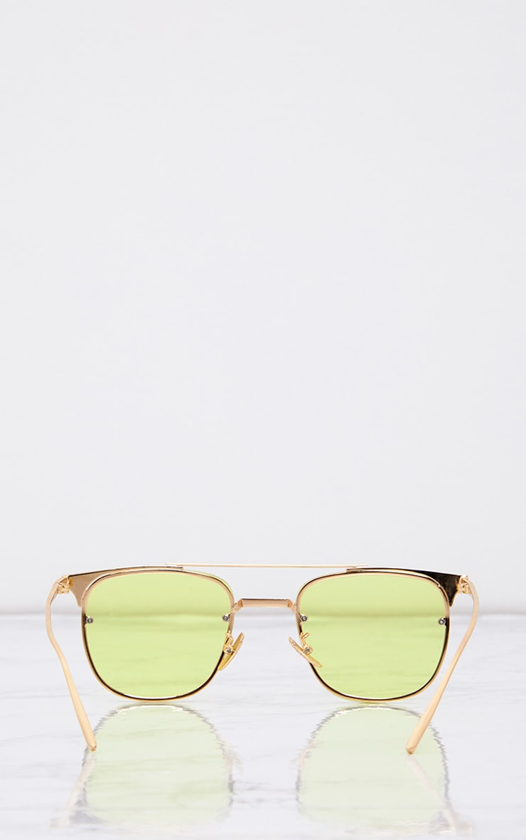 Torie Yellow Tinted Lens Glasses 4