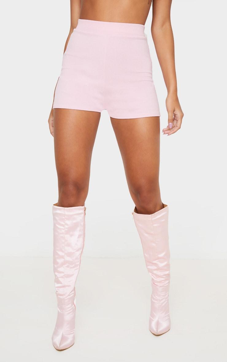 Pink Suit Shorts 3