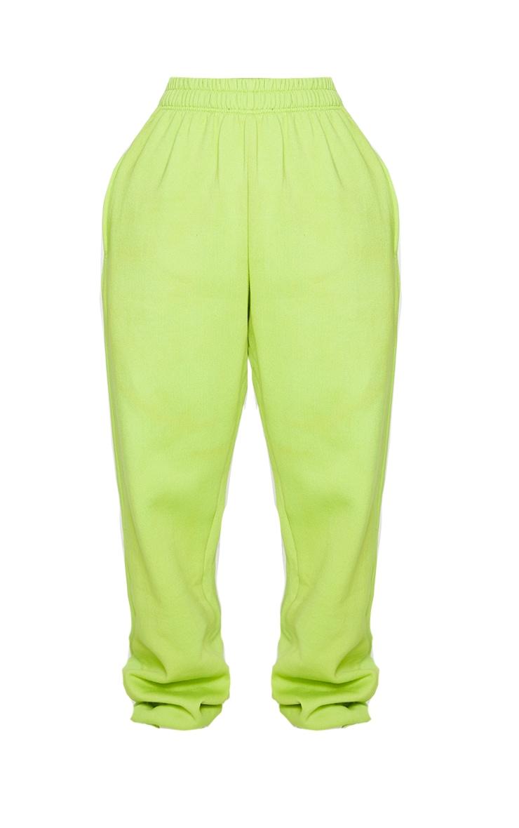 Shape Lime High Waist Pocket Detail Joggers 5