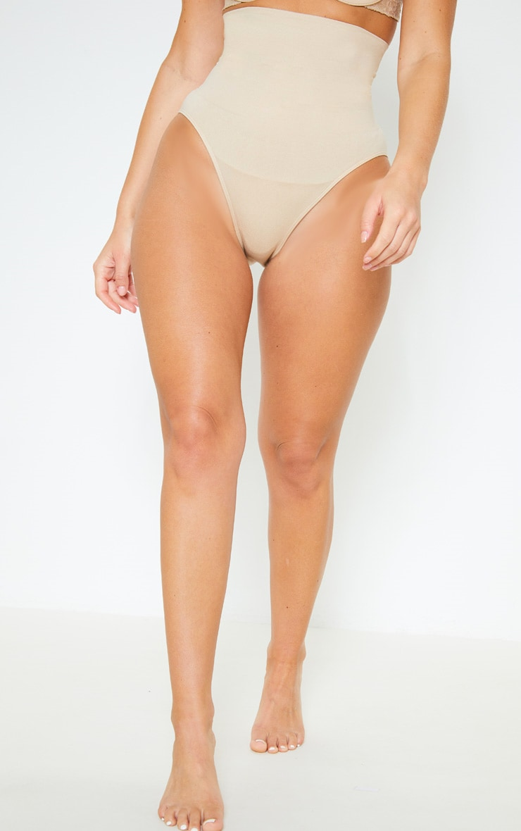 Nude Seamless High Waist Control Shapewear Brief 2