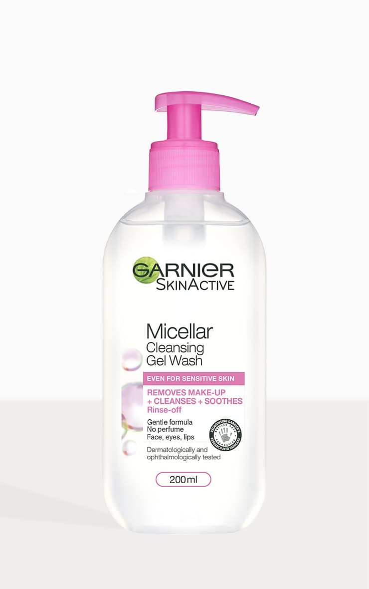 Garnier Micellar Gel Face Wash Sensitive Skin 1