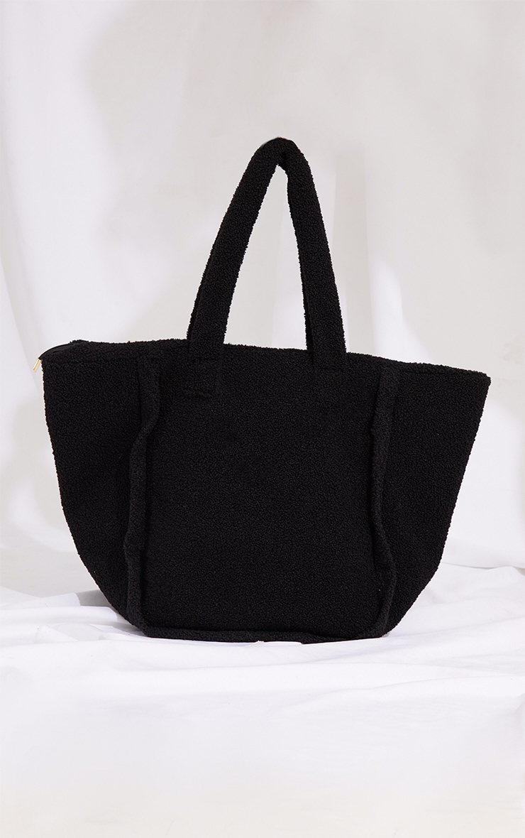 Black Borg Tote Bag 2
