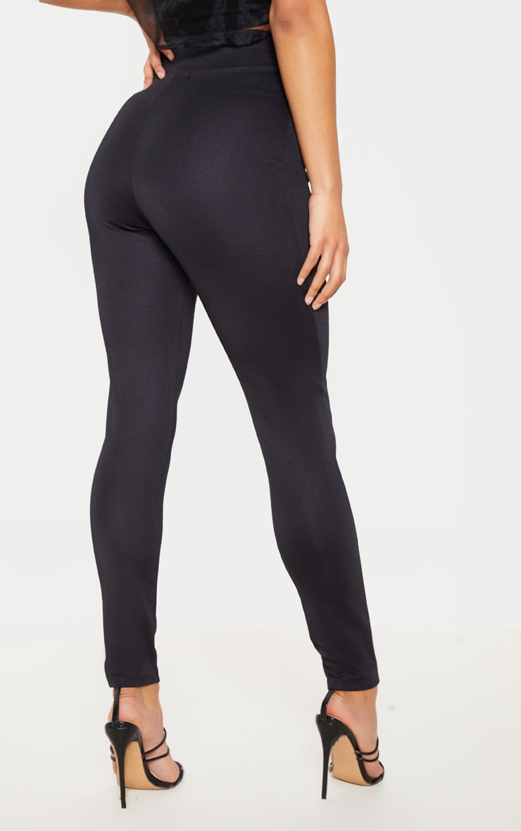 Black Body Shaping High Waist Legging 4