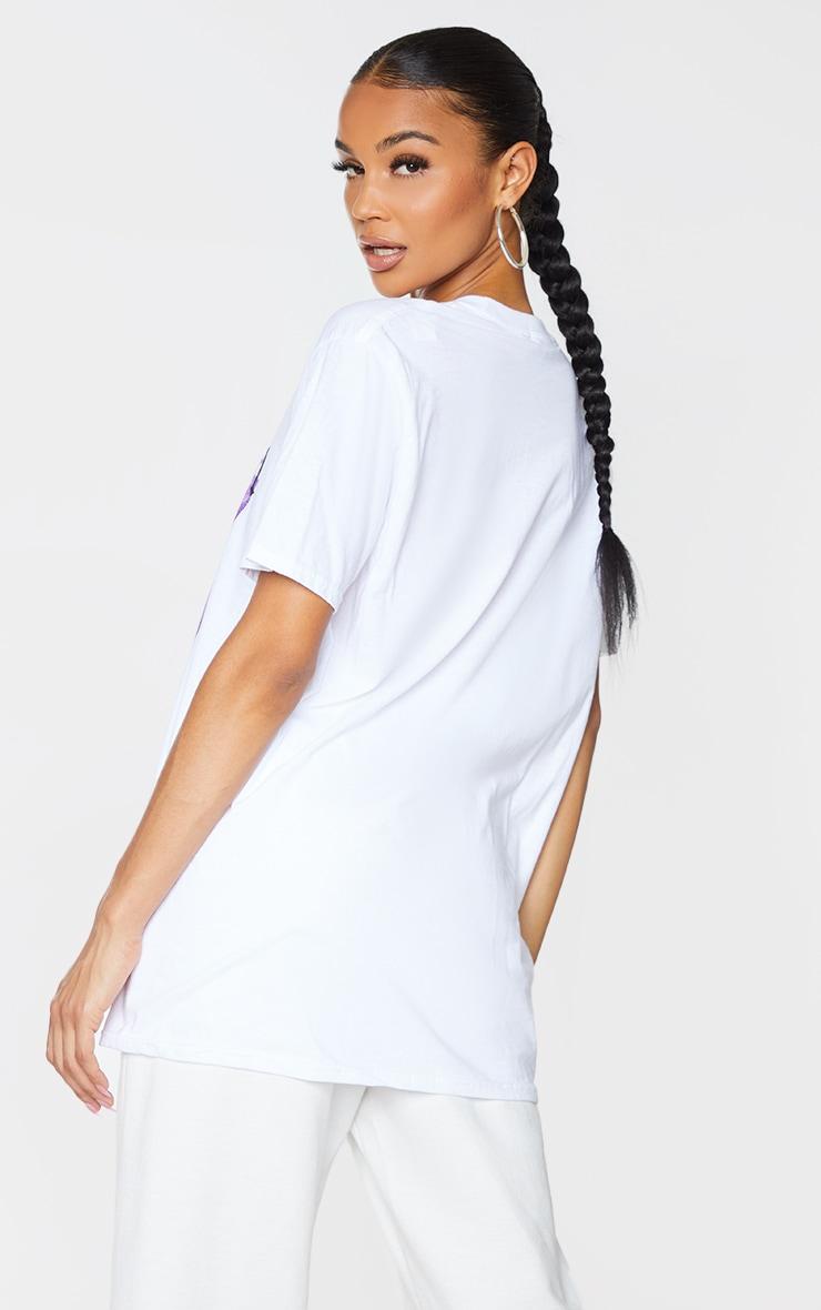 PRETTYLITTLETHING White Printed Baby Girl T Shirt 3