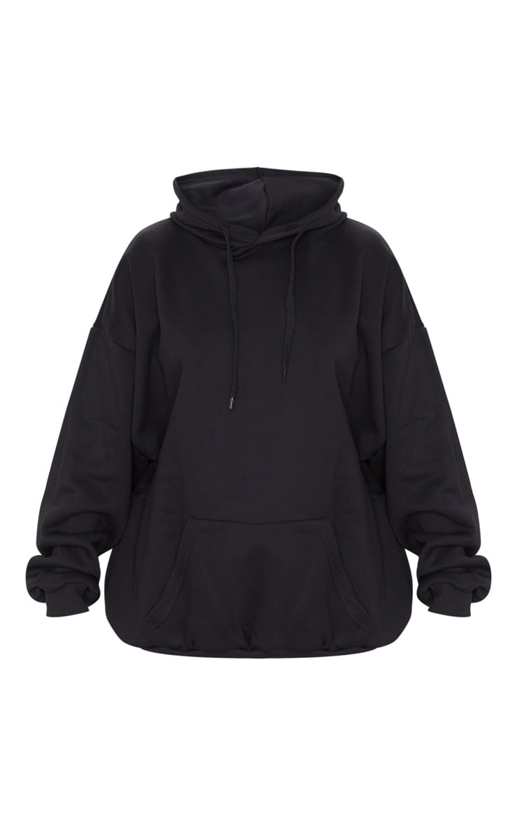 Black Ultimate Oversized Hoodie 3