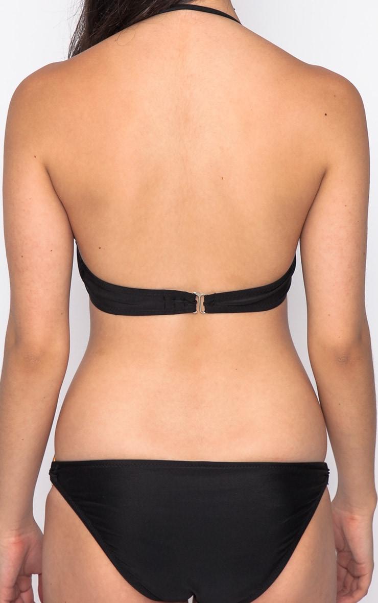 Hailey Black Gold Hoop Bikini Bottoms 2