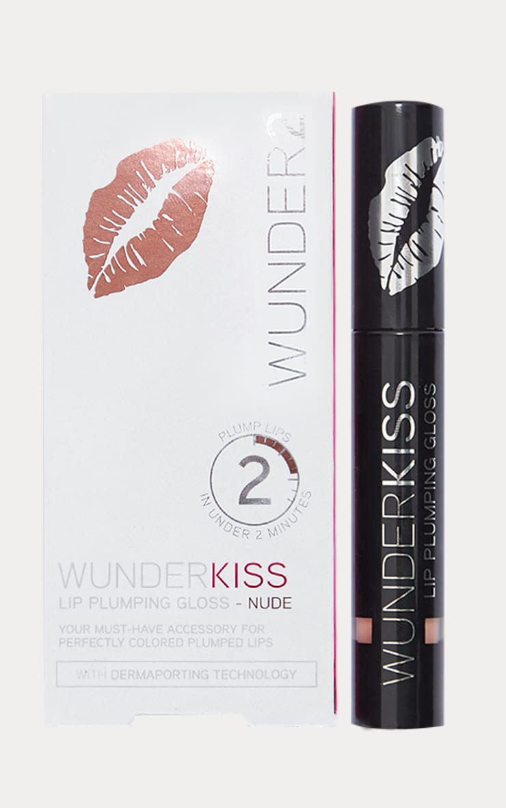Wunderkiss Lip Plumping Gloss Nude 2