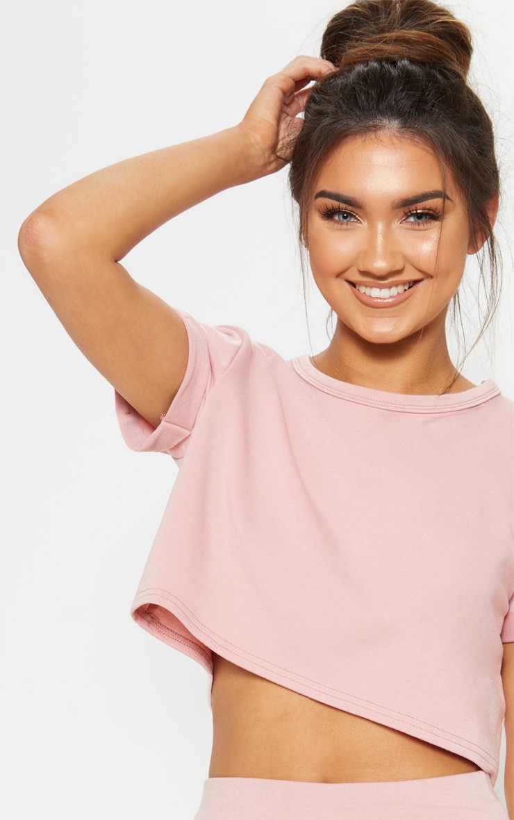 Rose Short Sleeve Lounge Top 5