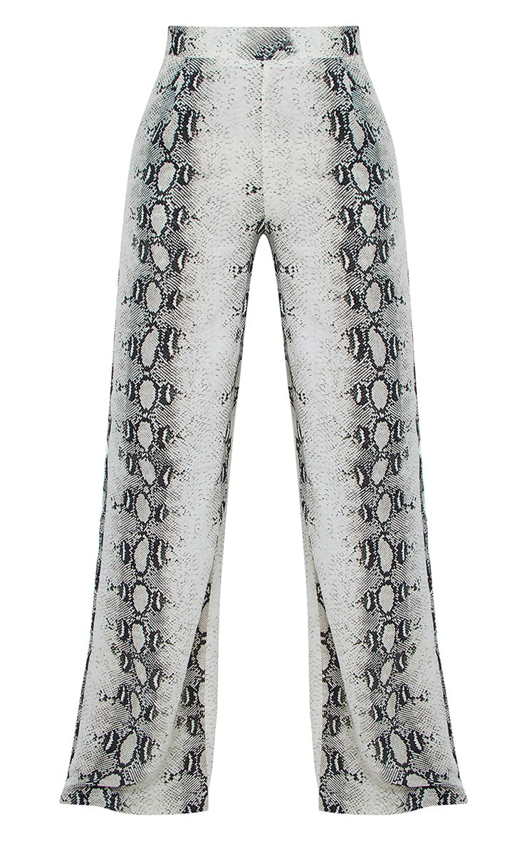 Snake Wide Leg Trousers 5
