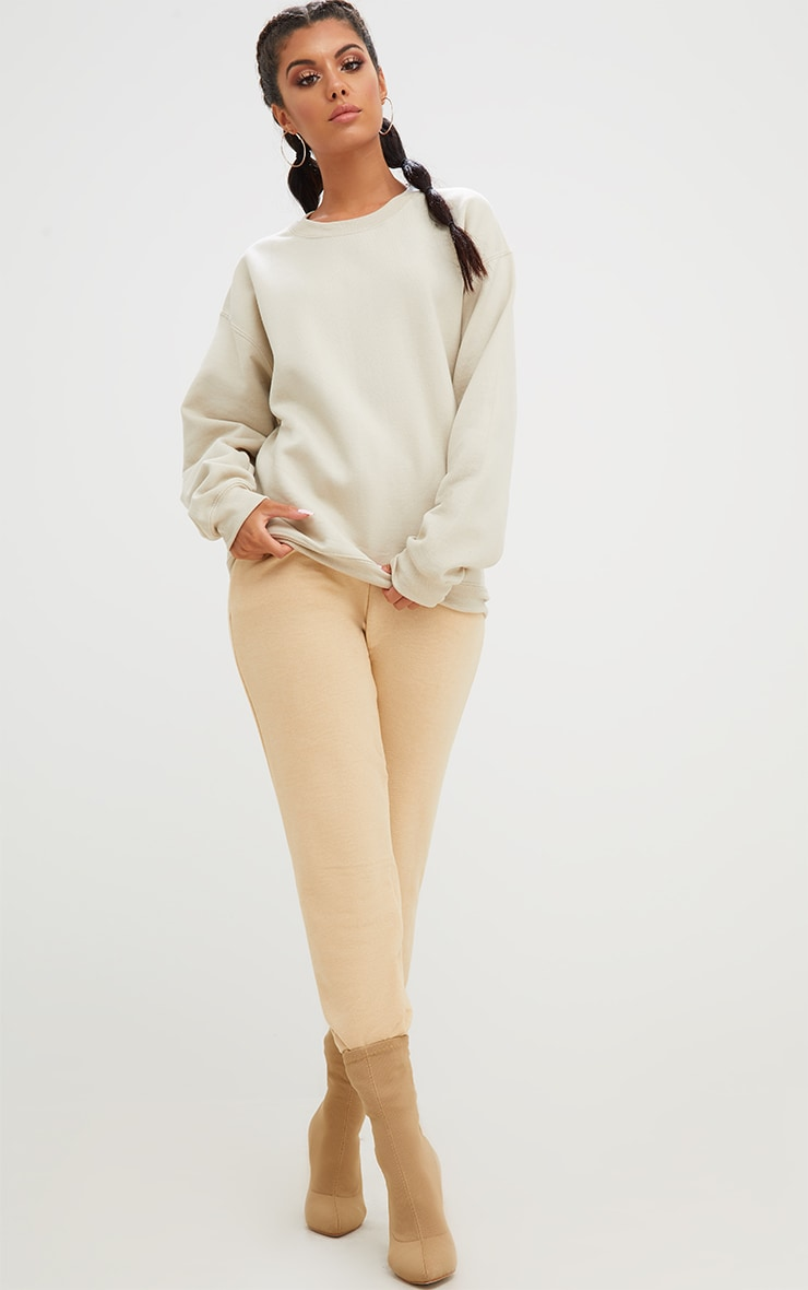 Sand Ultimate Oversized Sweater 2