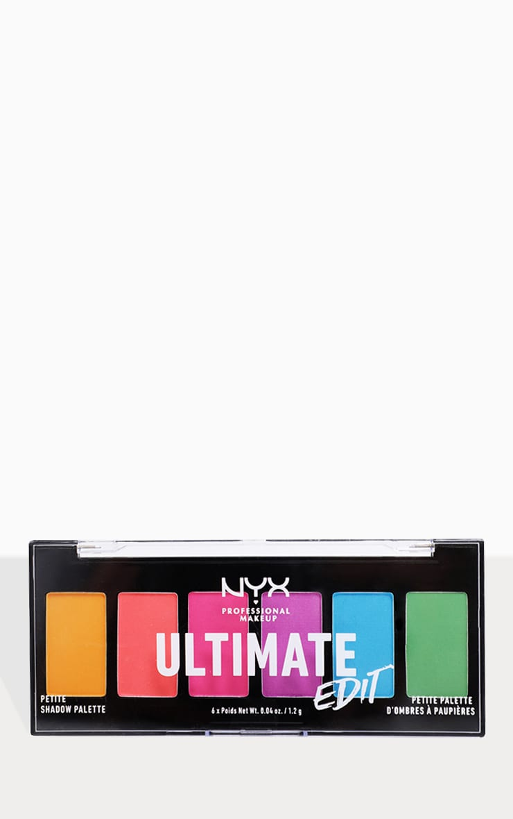 NYX PMU Ultimate Edit Petite Shadow Palette Brights 3