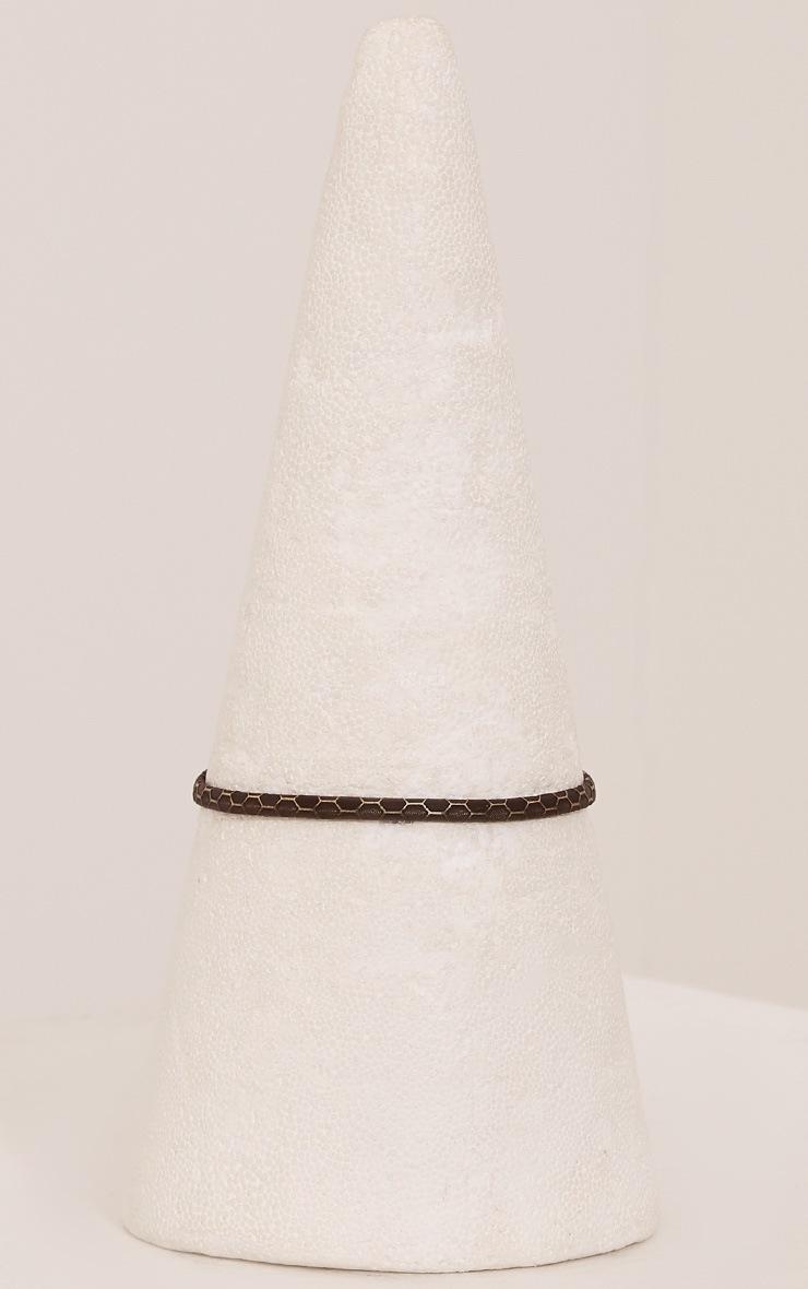 Taylah Brown Snakeprint Thinline Choker 3