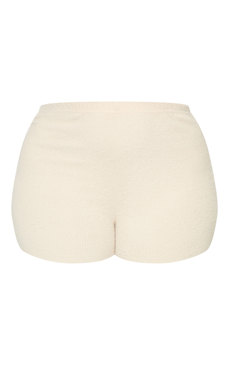 Plus Stone Fluffy Shorts 6