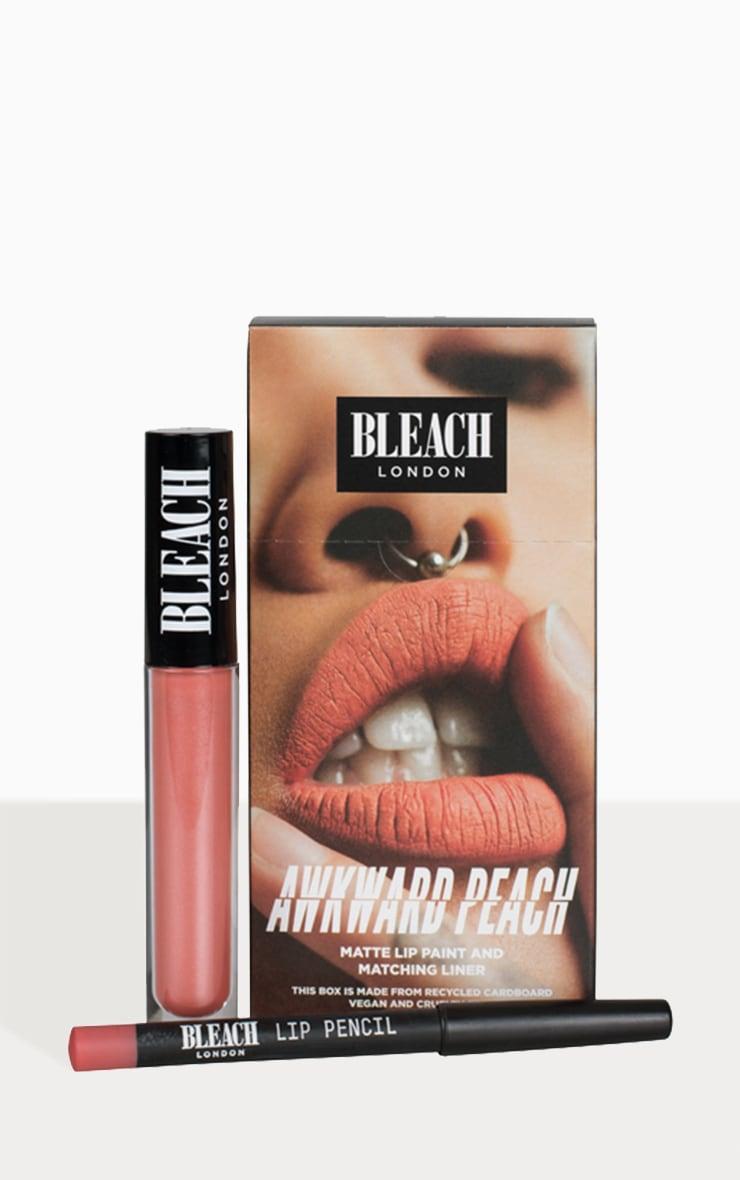 Bleach London Lip Kit Awkward Peach image 1