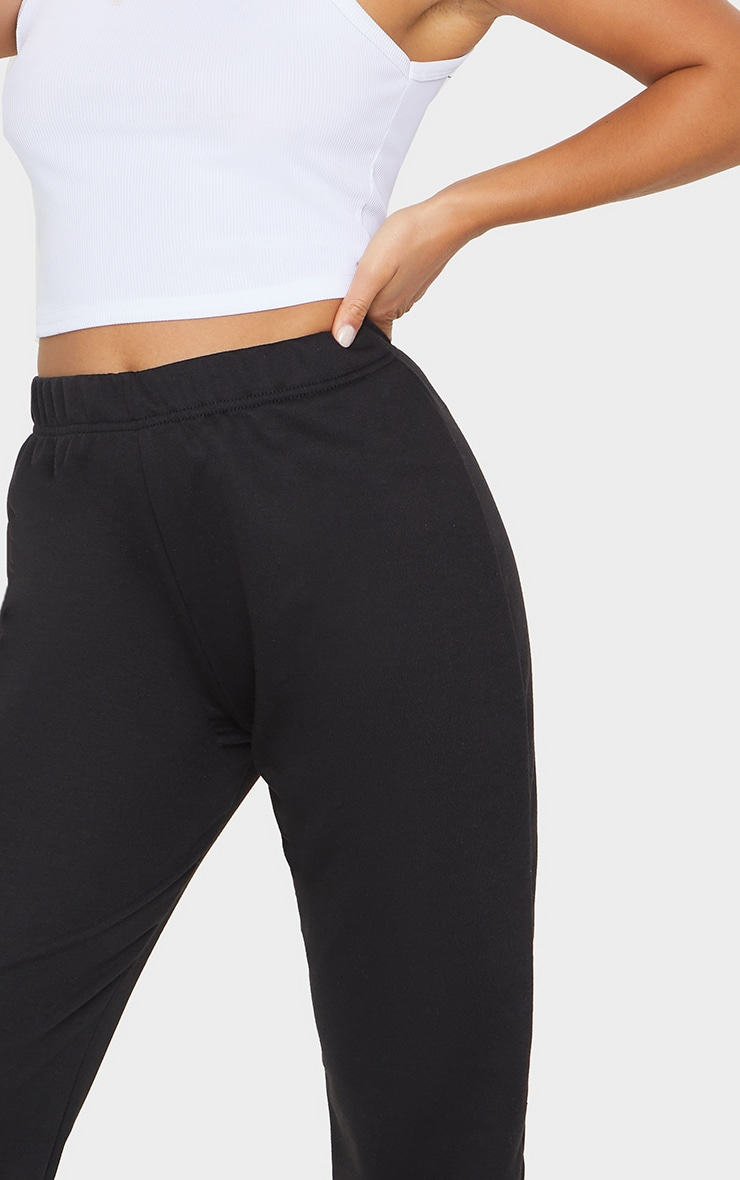 Petite Black &Grey Basic Cuffed Hem Track Pants 2 Pack 3