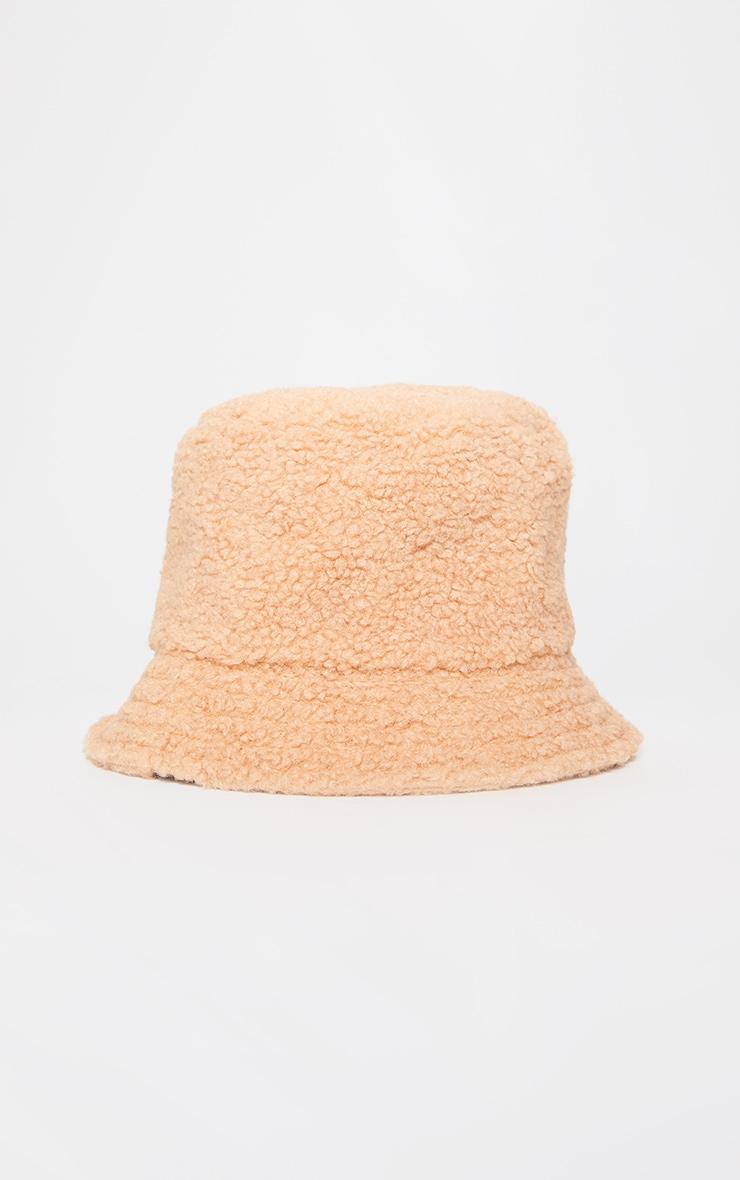 Tan Borg Bucket Hat 2