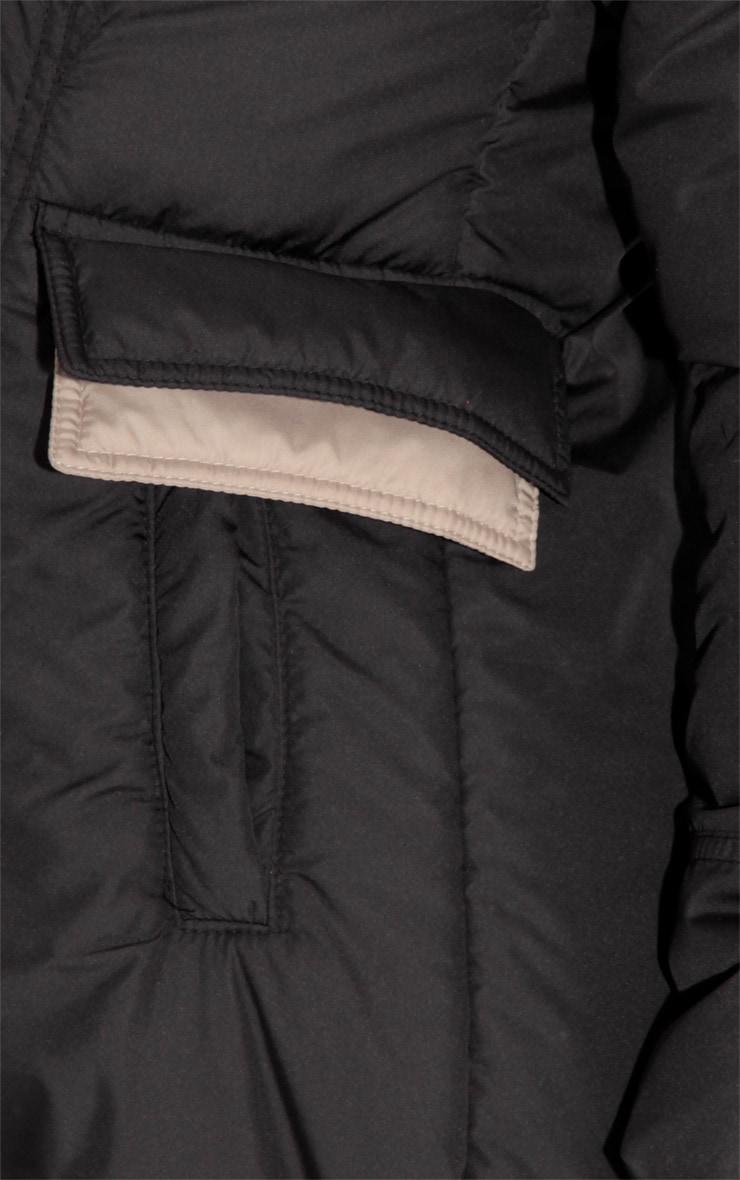 Charlie Double Zip Padded Parka Coat  6