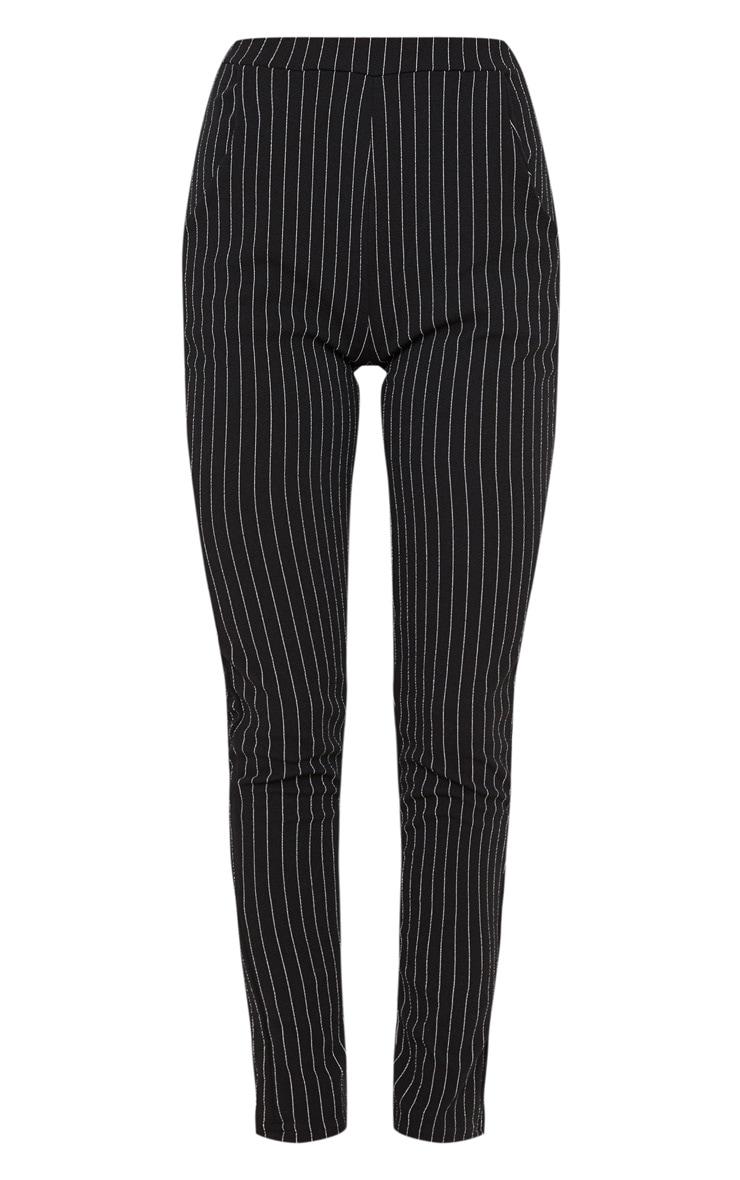 Pantalon à rayures noir 3