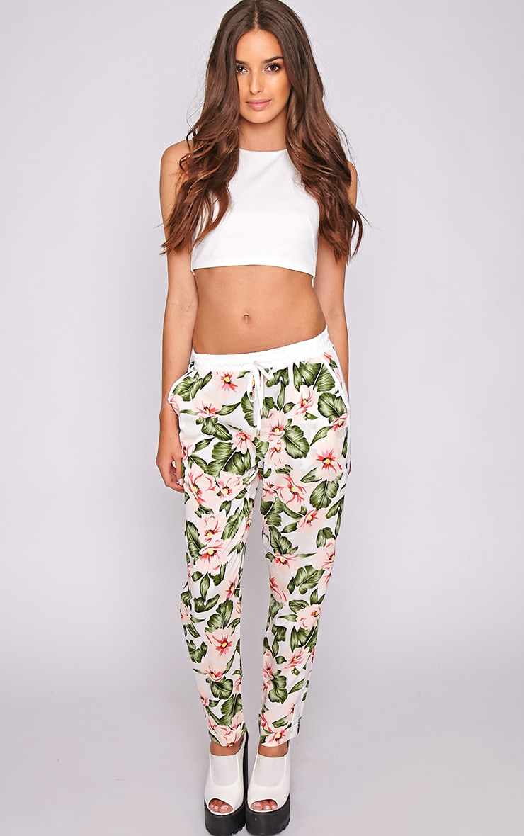 Thea Floral Drawstring Trouser 5