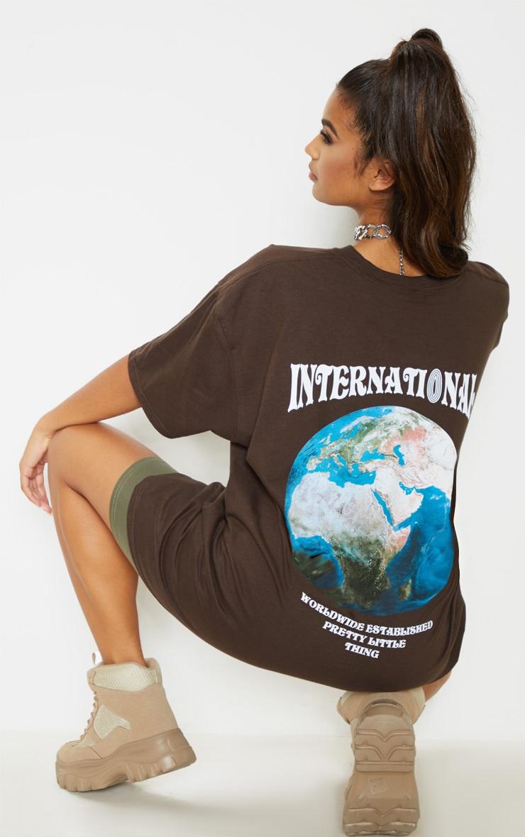 Brown International T-Shirt  1