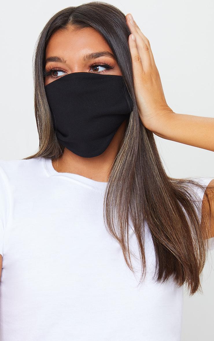 Black 5 Pack Face Mask 2
