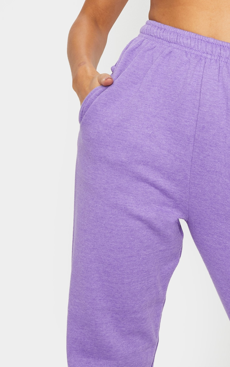 Purple Marl Casual Jogger 4