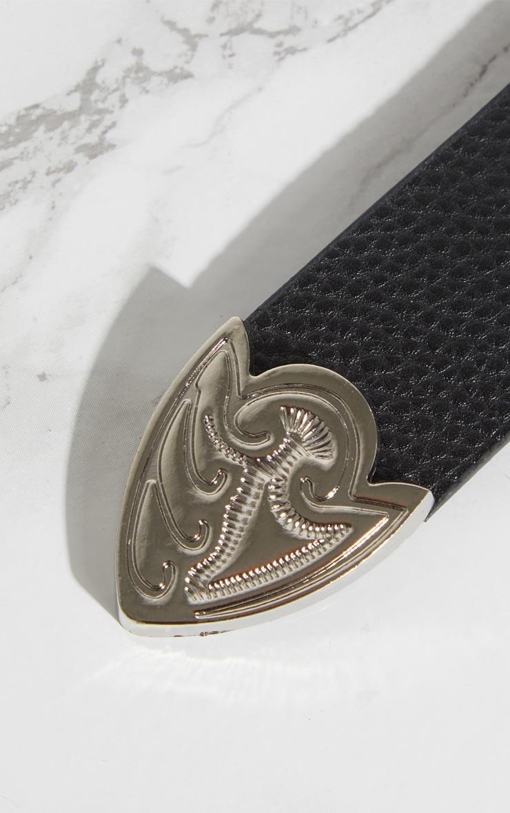 Black Heart Chain Belt 5