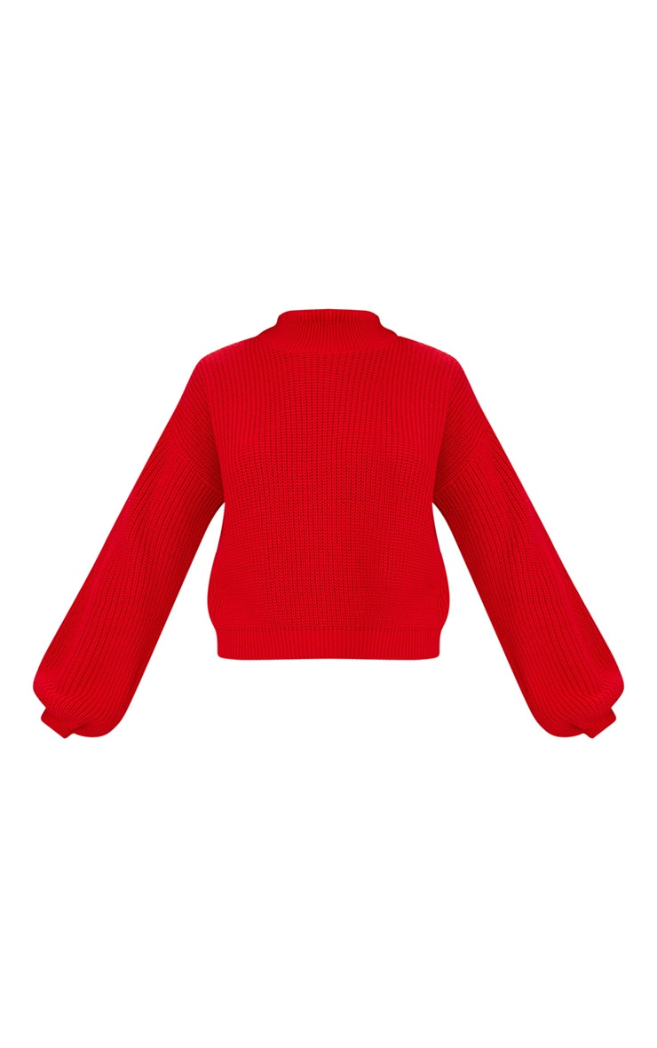 Red Balloon Sleeve Jumper 3