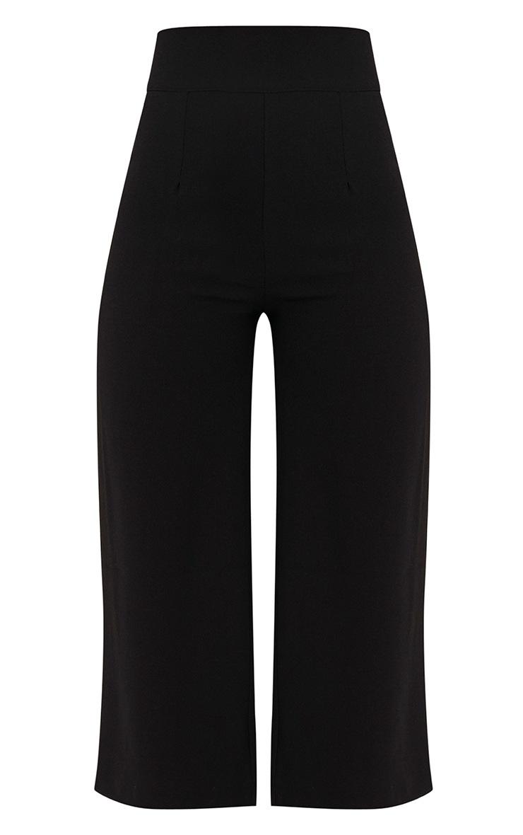 Tazmin jupe-culotte taille haute noire 3