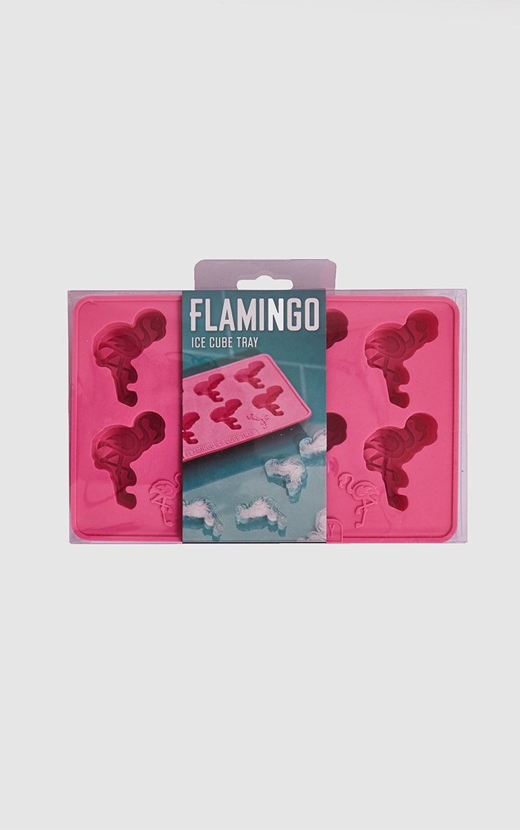 Pink Flamingo Ice Cube Tray 1