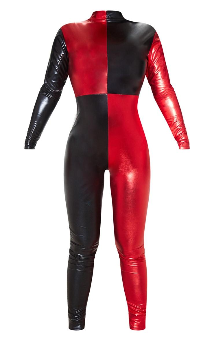 Colour Block Metallic Jumpsuit 3
