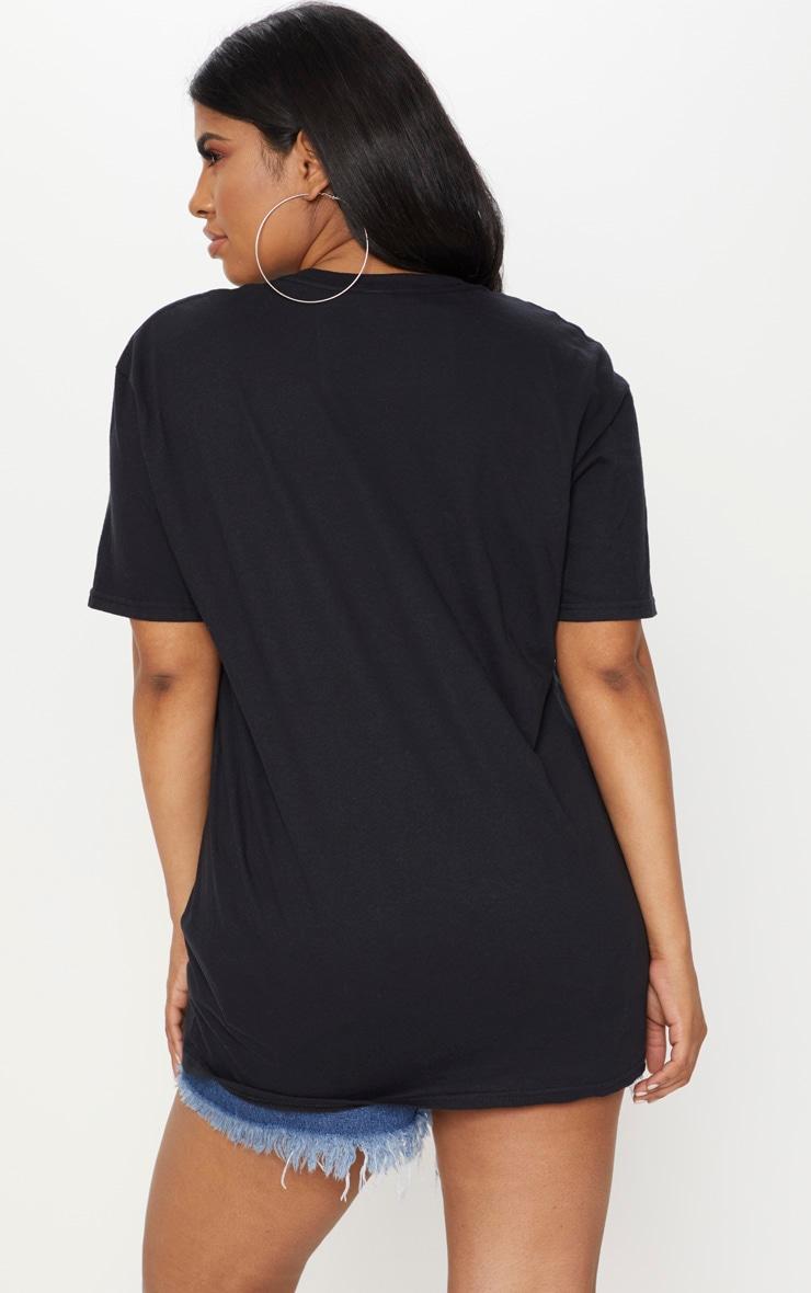 Plus Black Bring Me Sunshine T-Shirt 2