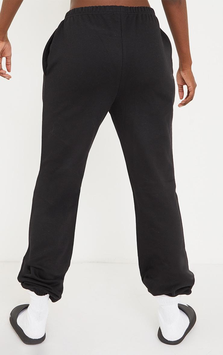 Tall Black Basic Cuffed Hem Joggers 3