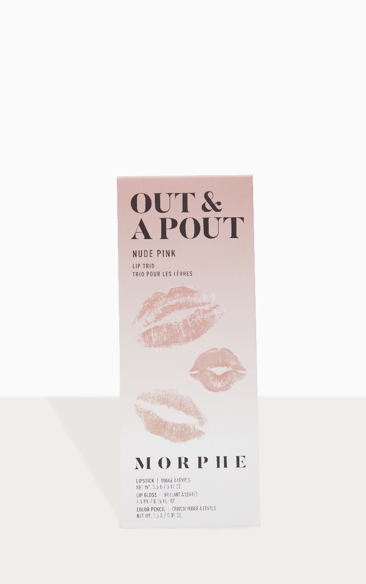 Morphe Out And a Pout Lip Trio Nude Pink 2