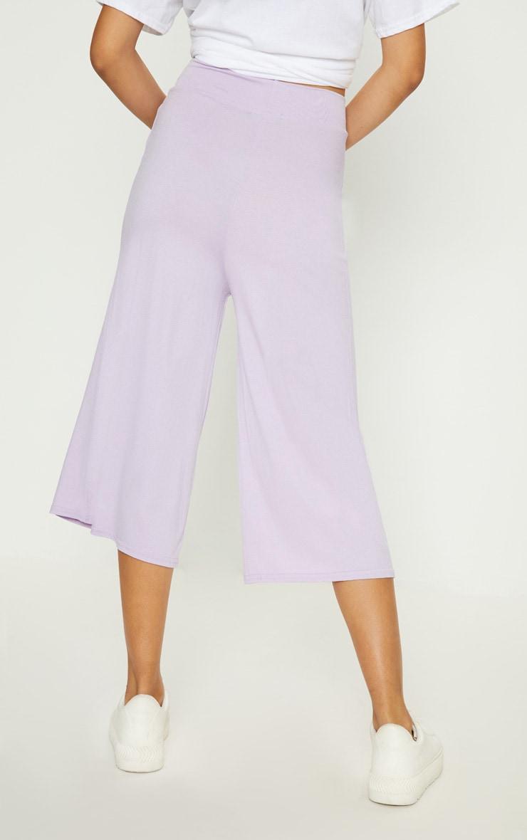 Lilac Basic Culotte  4