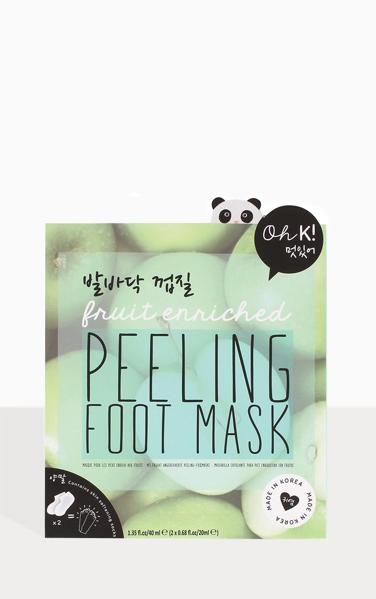 Oh K! Peeling Foot Mask 1