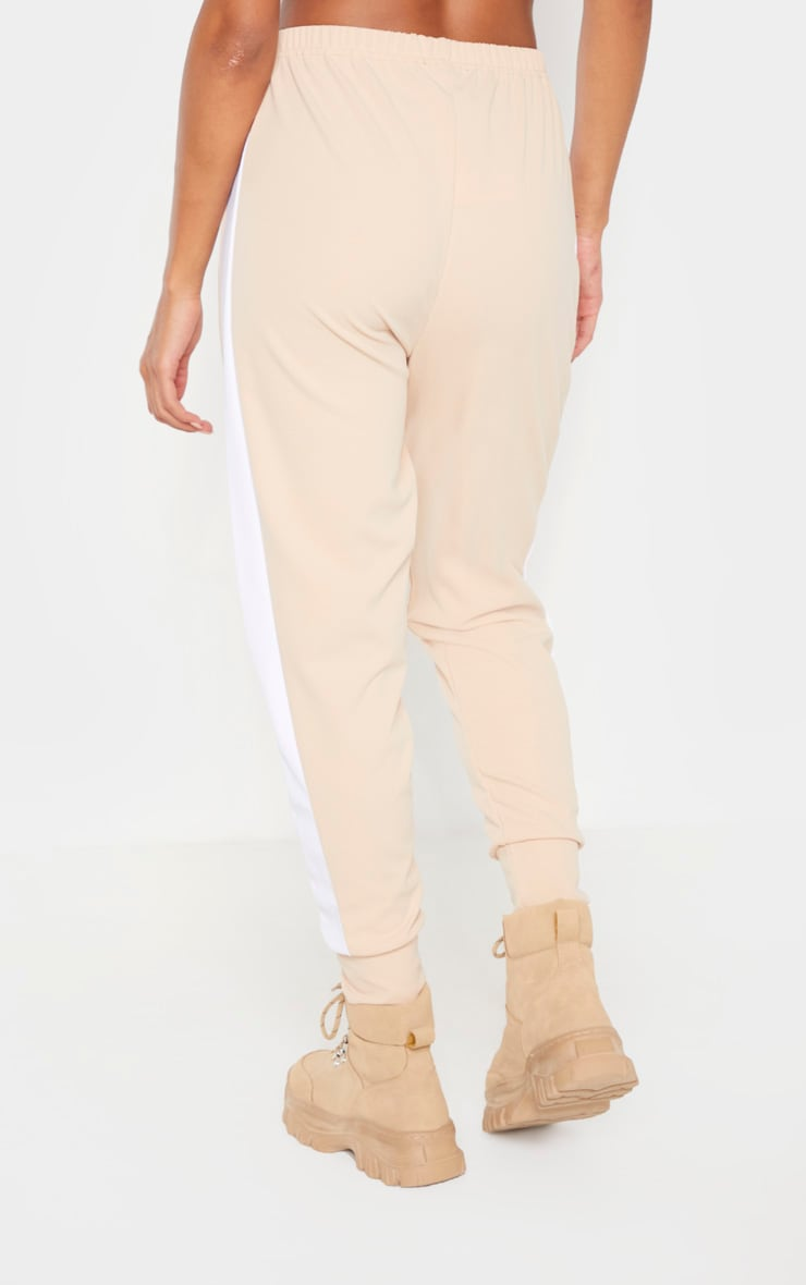 Stone Side Stripe Detail Jogger 4