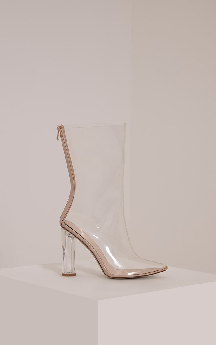 Zizi Clear Heeled Boots 3