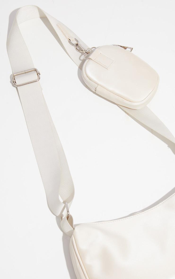 Stone Multi Pocket Cross Body Bag 3