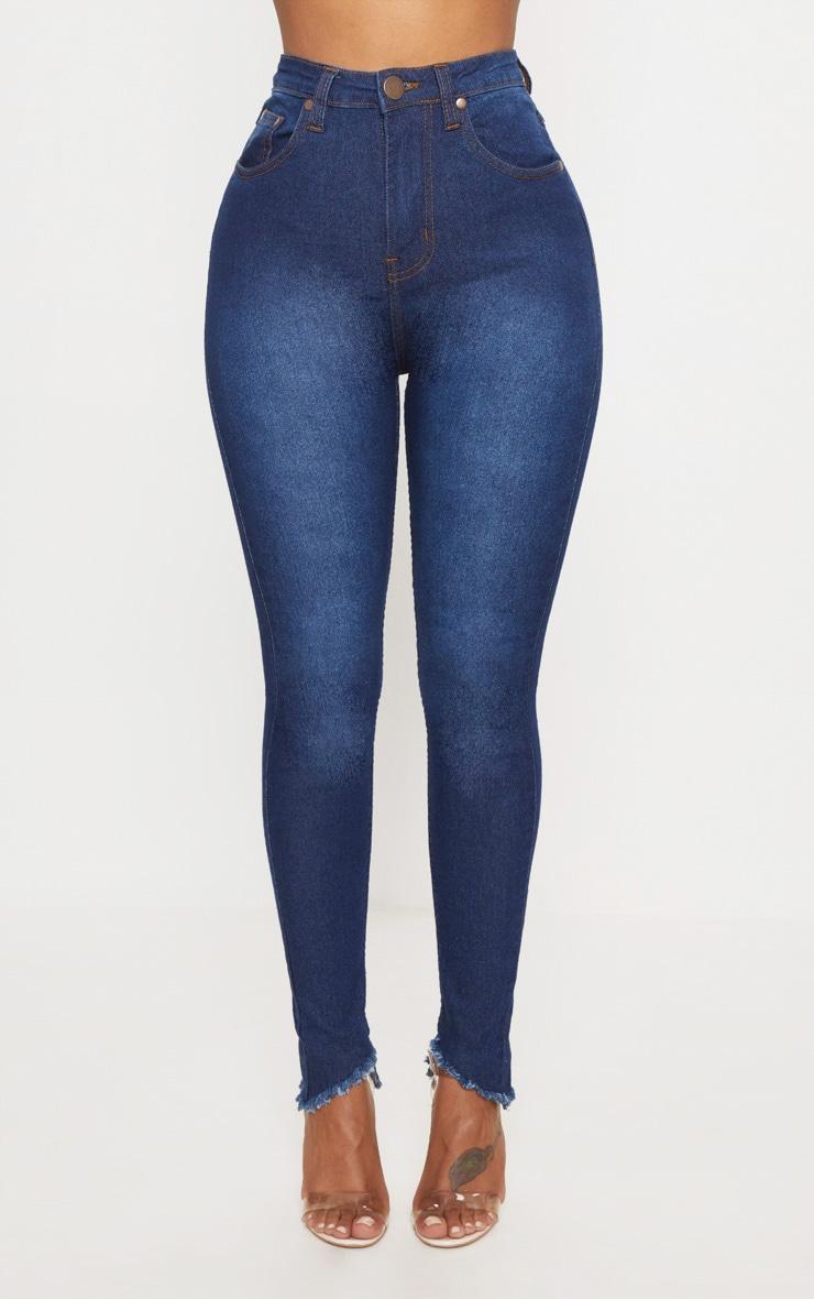 Shape Indigo High Waist Skinny Jeans 4