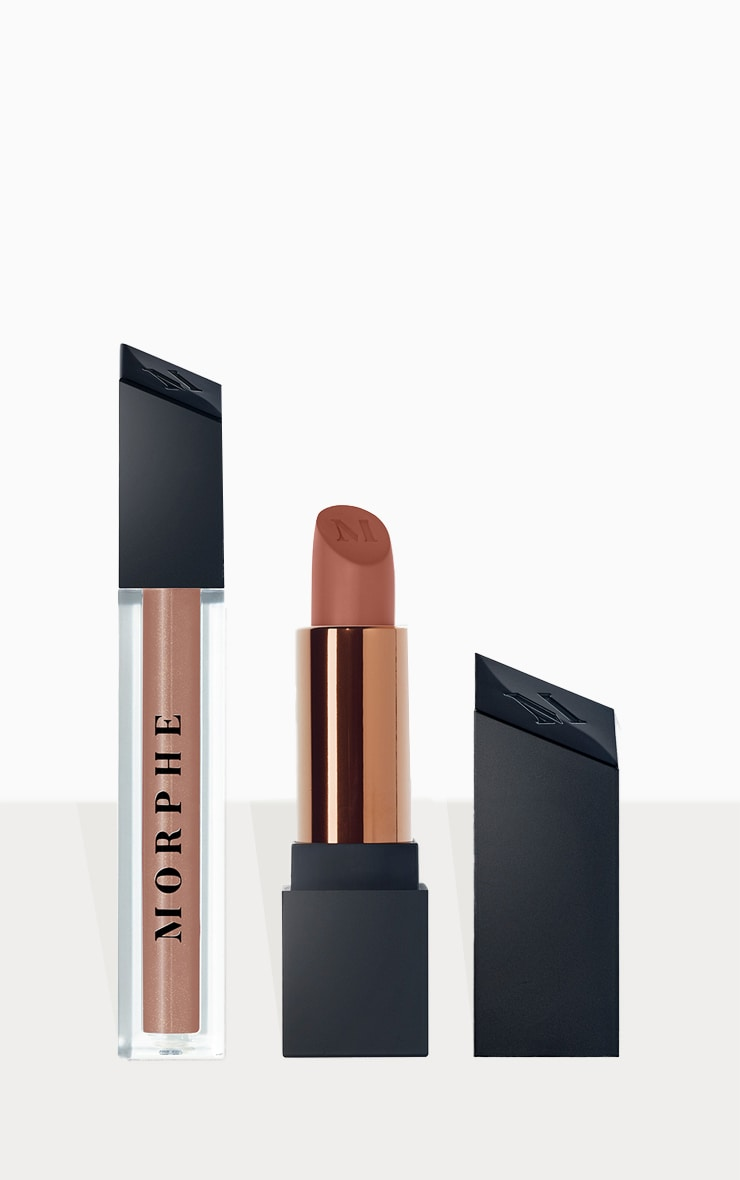 Morphe Out & A Pout Cocoa Nude Lip Duo 1