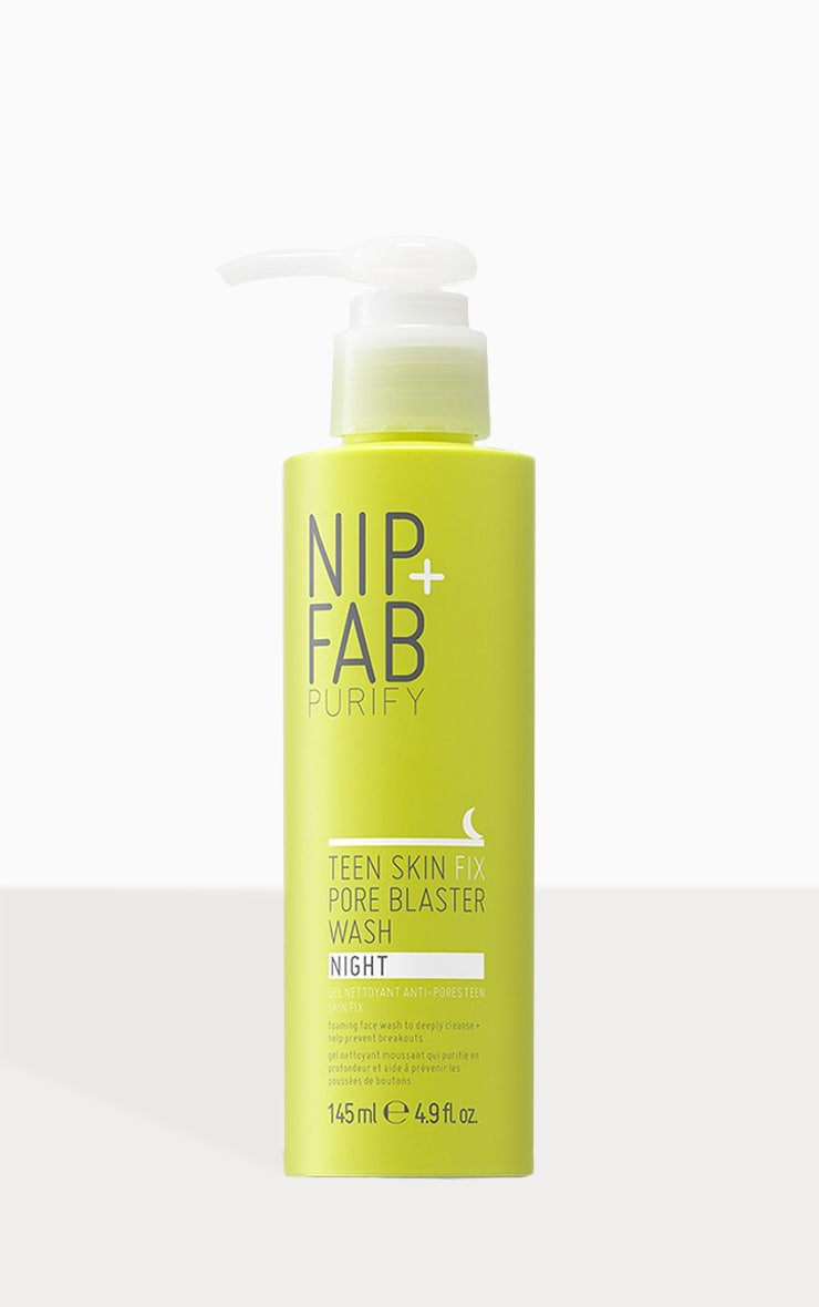 Nettoyant en gelée Teen Skin Fix Nip + Fab - Nuit 1