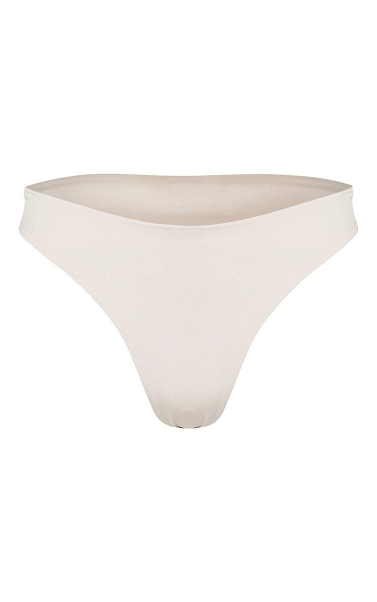 Nude High Rise Bikini Bottom 3