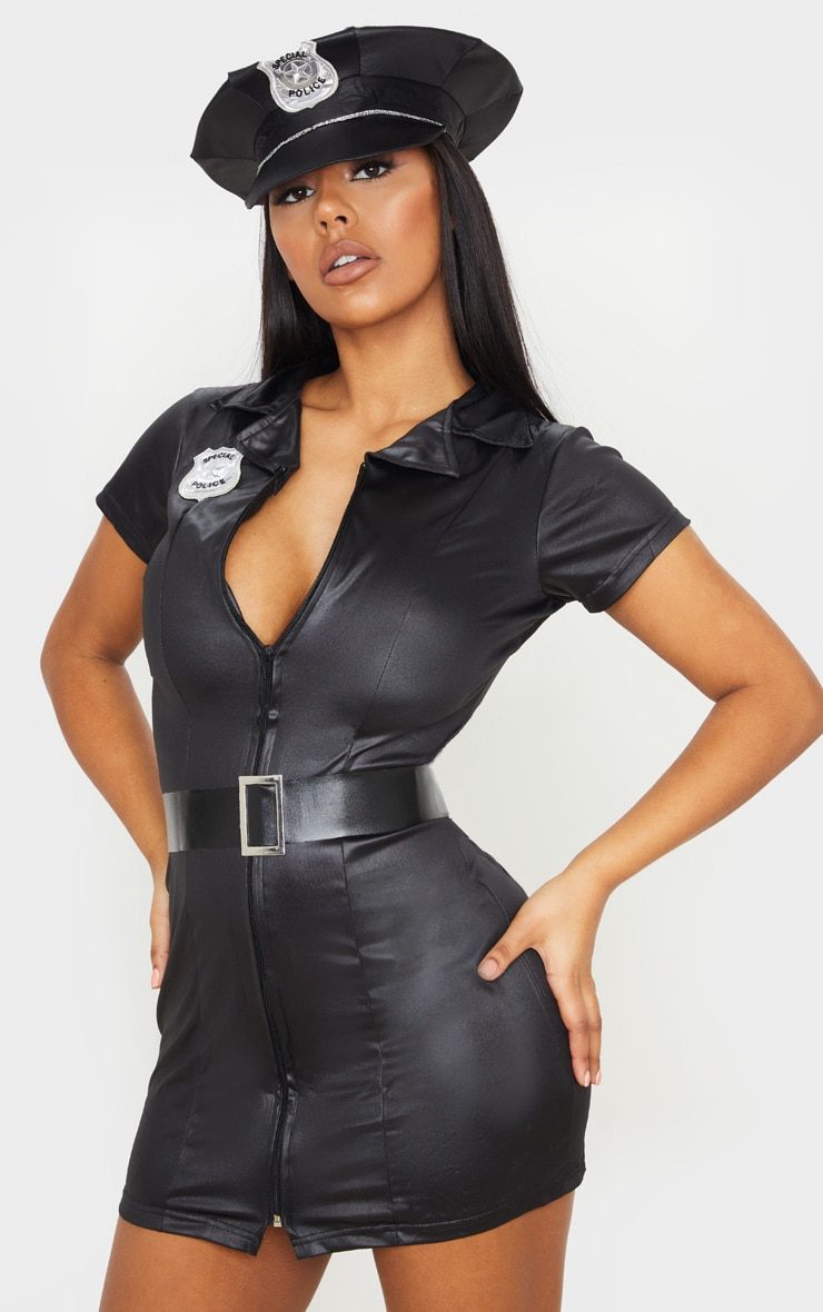 Sexy Female Police Costume  Accessories  Prettylittlething-7470