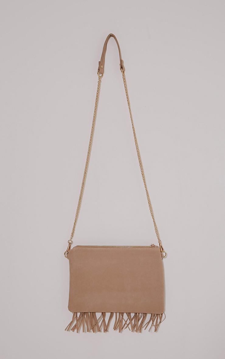 Dany Cream Fringe Bag 2