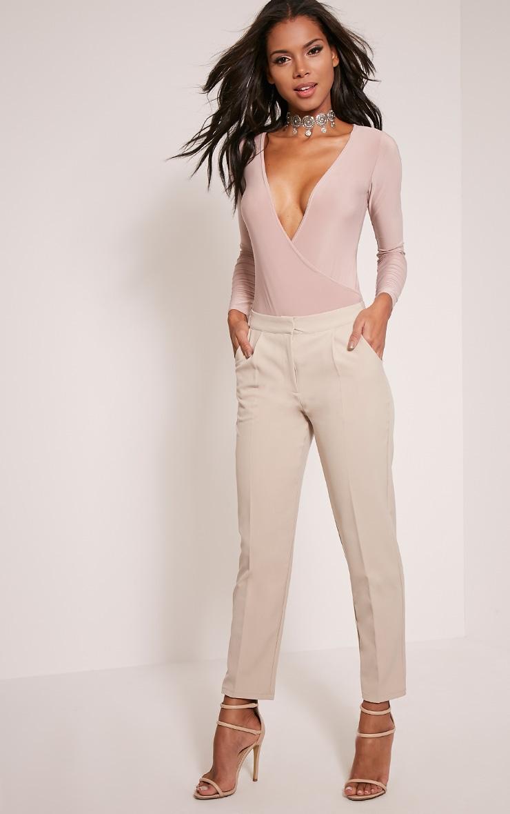 Taryn Stone Cigarette Trousers 1