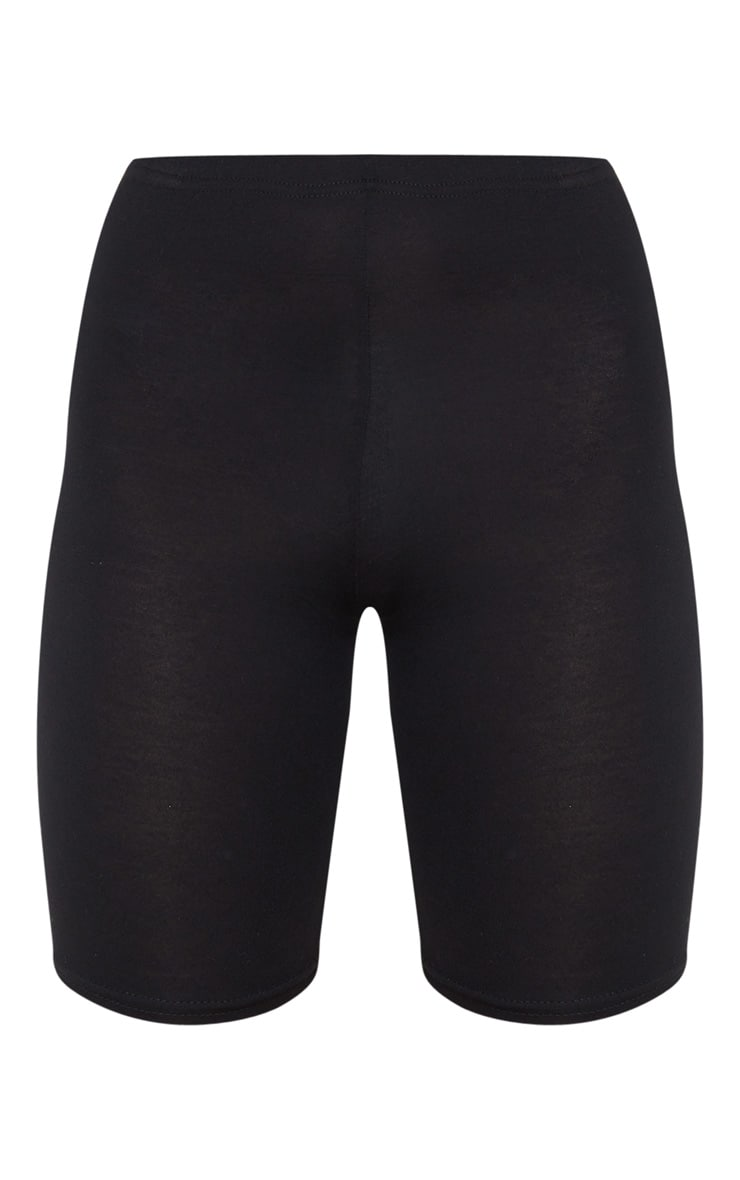 Basic Black Cycle Shorts 3