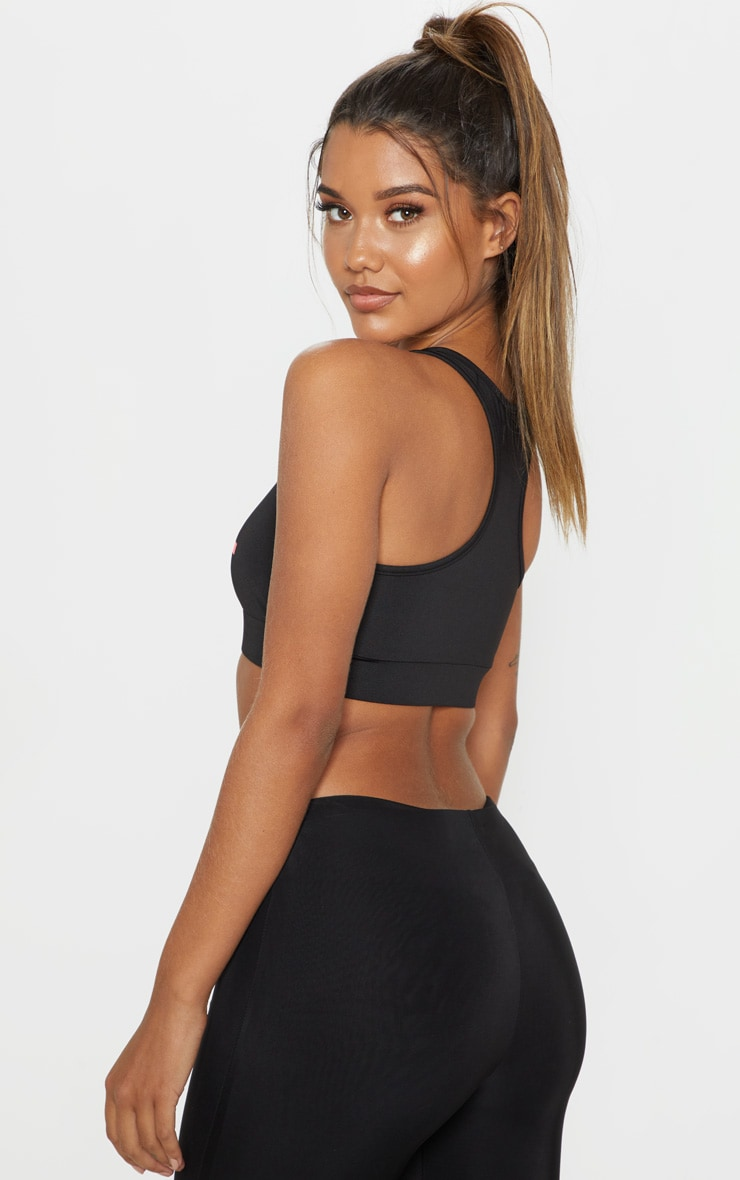 PLT Black Gym Bralet 2